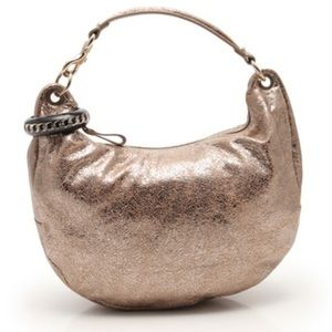 Jimmy Choo solar brown hobo bag